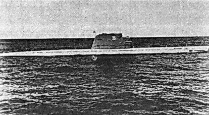 亡灵。 苏联柴油导弹潜艇