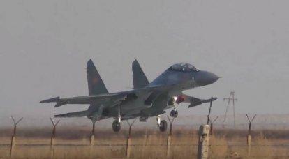 El caza multipropósito Su-30SM se estrelló en Kazajstán