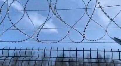 Ukraine schickt Litauen Stacheldraht in Form von humanitärer Hilfe