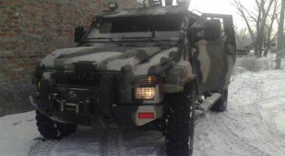 KrAZ斯巴达装甲车:期望和问题