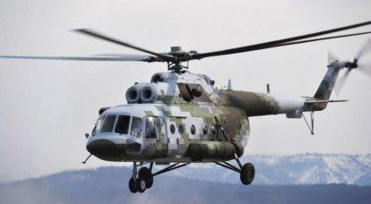 미-8. 수백 가지 직업의 헬리콥터