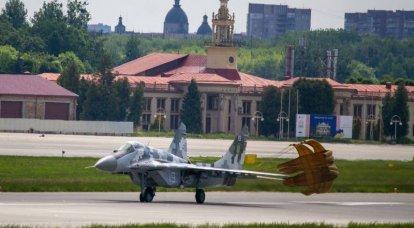 ウクライナ軍の空軍は別の近代化された戦闘機MiG-29MU1を受け取りました