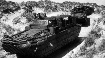 两栖车辆DUKW