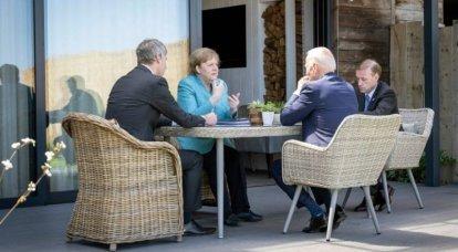 L'administration Merkel a annoncé la position de l'Allemagne sur le conflit dans le Donbass