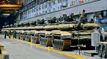 Wie stark ist die Feuerkraft der Panzer in den Kampfeinheiten der russischen Armee?
