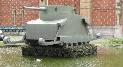 Erste Panzer: Projekte 1841 und 1911