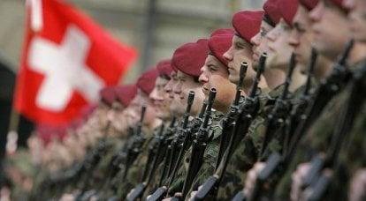 瑞士军队:侧板上的装甲列车