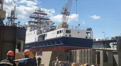 सीमा सेवा के लिए परियोजना 22120 का सातवां गश्ती जहाज सेंट पीटर्सबर्ग में लॉन्च किया गया था