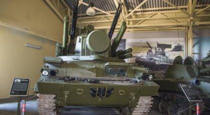 """武器についての物語。 外側と内側のZRPK """"Tunguska-M"""""""