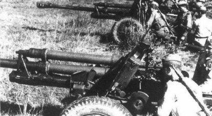 世紀の武器です。 砲兵、最高の銃