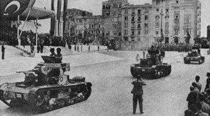 Renault FT, T-26 und andere. Frühgeschichte der türkischen Panzertruppen