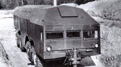 車輪の上のバンカー。 保護対象マシン「Redut」