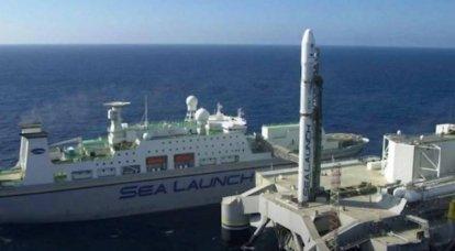 O proprietário da Sea Launch apreciou a restauração do cosmódromo flutuante