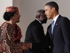 Gaddafi escreveu uma mensagem para Obama