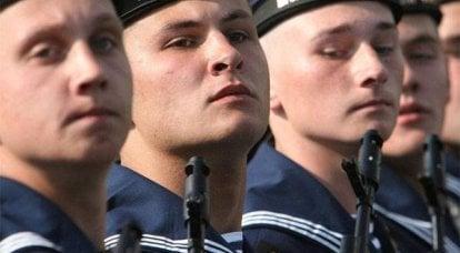 俄罗斯波罗的海舰队的一天