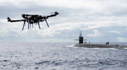 ABD Donanması, insansız hava araçları kullanarak denizaltı tedarik etmenin yeni bir konseptini test ediyor