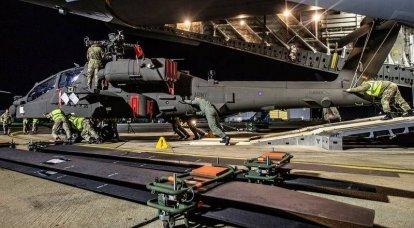 英国接收首架AH-64E阿帕奇守护者攻击直升机