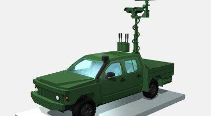 "UAV ""Polonez""(우크라이나)와 싸우는 복합 단지"