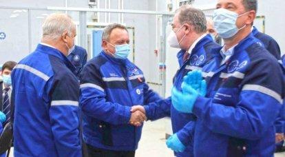 La nuova unità di potenza della NPP-2 di Leningrado ha fornito la prima energia al sistema elettrico del paese