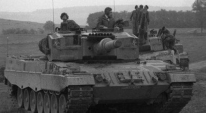 Alman ana muharebe tankı Leopard 2: gelişim aşamaları. 4 bölümü
