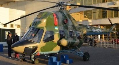 Motor Sich desenvolve um helicóptero embarcado para corvetas ucranianas