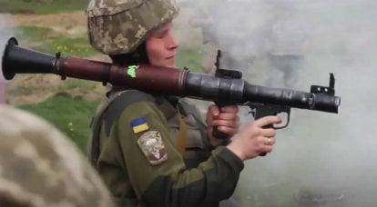 """""""Onde está a solha, rapaz?"""": Visitas de instrutores militares da OTAN no contexto de um claro agravamento da situação no Donbass"""