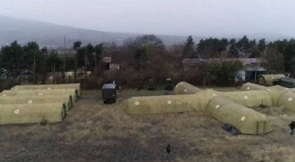 Field hospital of the Russian Ministry of Defense deployed in Stepanakert