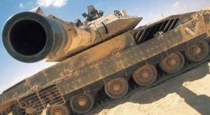 """主战车辆AOI""""Merkava Mk.4""""的建设性漏洞。 延期"""