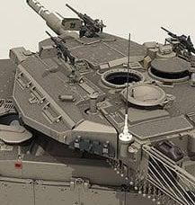 许多专家认为Merkava坦克是世界上最好的主战坦克。