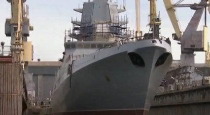 """A UEC fornecerá """"Severnaya Verf"""" com quatro unidades de turbina diesel-gás М55Р para fragatas do projeto 22350"""