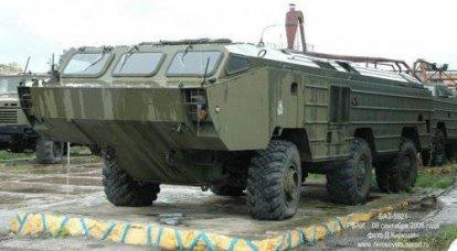 BAZ-5937浮动轮式底盘