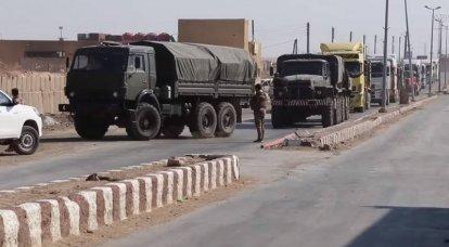 터키, 러시아, 시리아 쿠르드에게 무기와 탄약 공급