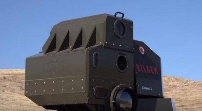 Die Türken testeten ihr eigenes Kampflasersystem