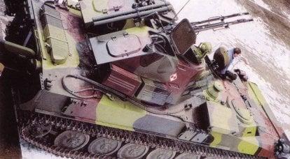 防空导弹和炮兵综合体Sopel和Stalagmit(波兰)