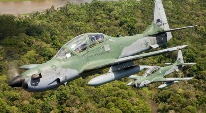 Turboprop attack aircraft Embraer EMB-314 Super Tucano may show in Kiev