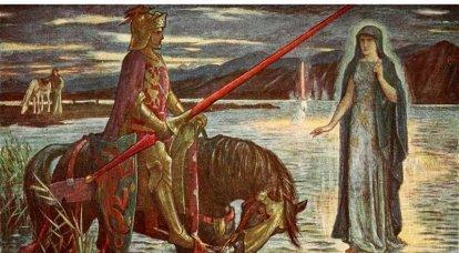 Arthur, Merlín y las hadas del ciclo bretón
