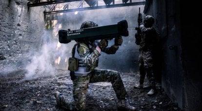 导弹复合体 MBDA Enforcer。 有前途的步兵和航空武器