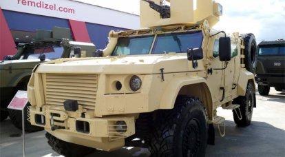 Unificación y nuevas oportunidades. Carro blindado de fuerzas especiales K-4386 ZA-SPN