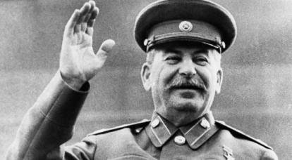 无需保存普通的斯大林。 大元帅能够应付自己