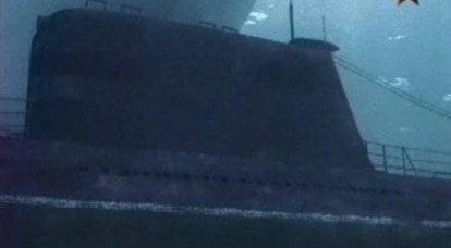 俄罗斯的海上力量。 死亡游戏