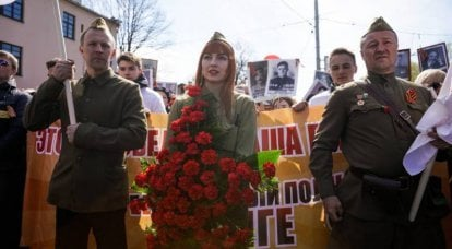 In Latvia, on Victory Day, the police blocked the approaches to the monument to Soviet soldiers-liberators
