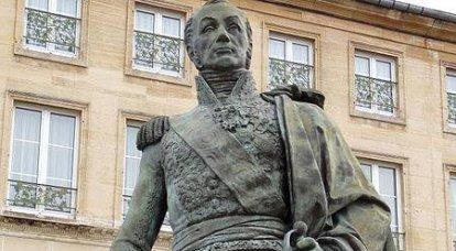 Mareşal Oudinot. Üç efendinin hizmetçisi