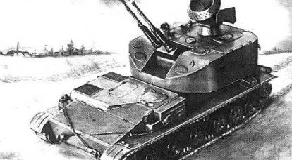 ZSU-37-2「エニセイ」。 「シルカ」シングルではない
