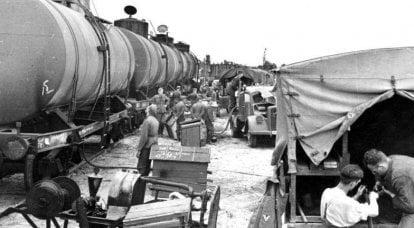 युद्ध के मोड़ पर जर्मन तेल