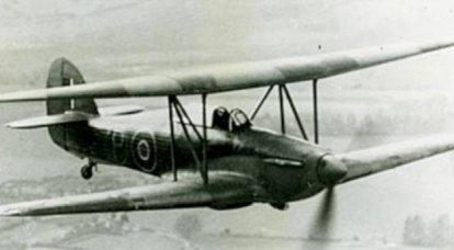 实验飞机Hawker-Hillson FH.40 Hurricane(UK)