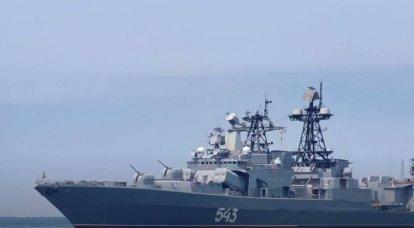 """Die Modernisierung """"Marschall Shaposhnikov"""" wurde auf See getestet"""