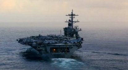 """""""항해의 자유를 보장하기 위해"""": 남중국해에 파견 된 미국 항공 모함"""