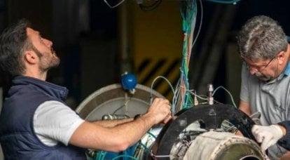 Türk firması turbojet roket motorunu tanıttı