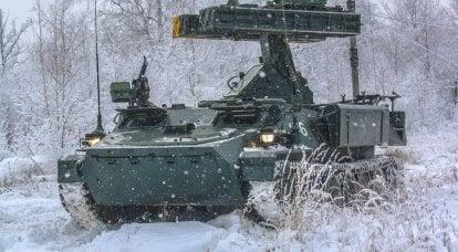 "SAM ""Ptitselov"" para forças terrestres"