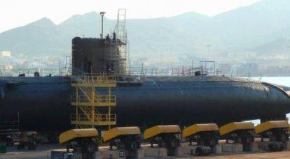 गैर-परमाणु पनडुब्बी अगोस्टा 90B। पाकिस्तानी बेड़े के लिए फ्रांसीसी परियोजना